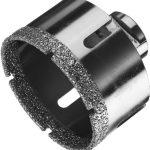 Коронка алмазная по керамограниту: сверлим отверстия в прочном матераиле