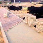 Смесь для укладки тротуарной плитки: изготовление, пропорции, применение
