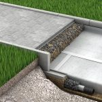 Геотекстиль под тротуарную плитку: полотно, улучшающее свойство покрытия