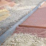 Подушка под тротуарную плитку: особенности изготовления