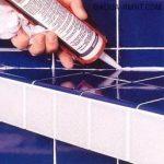 Затирка швов плитки в ванной своими руками: как осуществляется