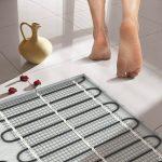 Инфракрасный тёплый пол под плитку: какой лучше всего подобрать и как установить