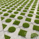 Тротуарная плитка с отверстиями для травы: применение и нюансы