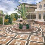 Вибролитая плитка: тротуарная плитка с визуальным разнообразием